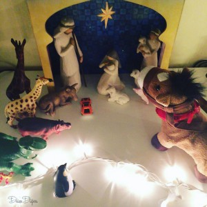 Oh, you didn't know that so many exotic animals were present at the birth of Jesus?