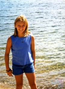 Age 12- before I was expected to be concerned about my body...